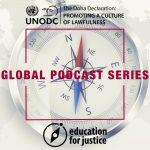 Global podcast series logo
